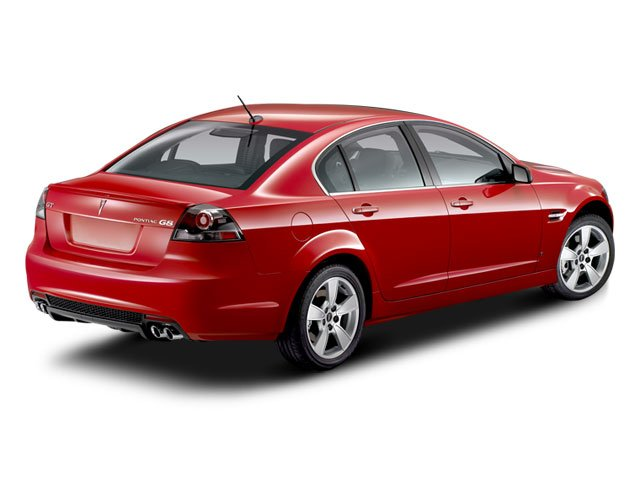 2008 Pontiac G8 Prices and Values Sedan 4D side rear view