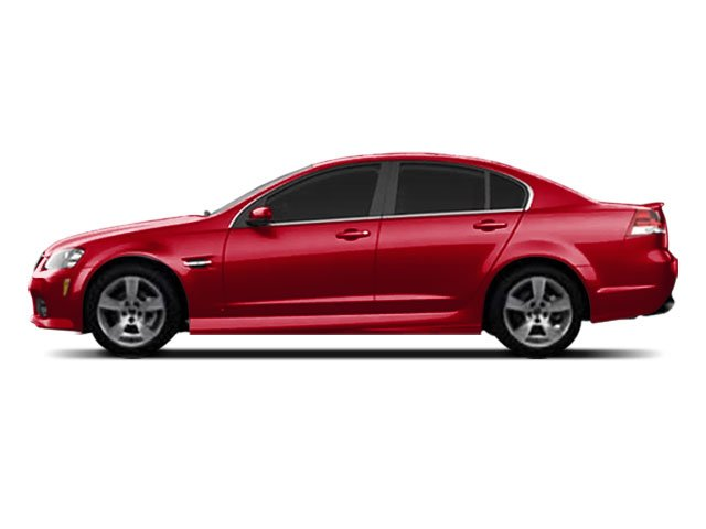 2008 Pontiac G8 Prices and Values Sedan 4D side view