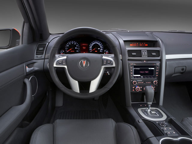 2008 Pontiac G8 Prices and Values Sedan 4D driver's dashboard
