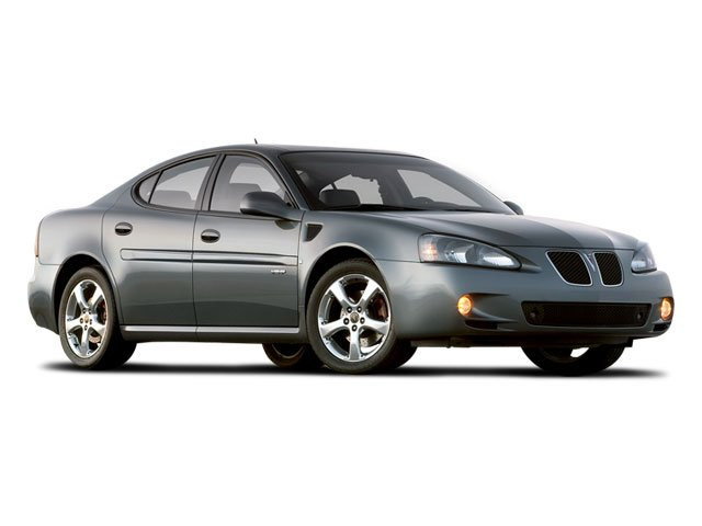 2008 Pontiac Grand Prix Prices and Values Sedan 4D side front view