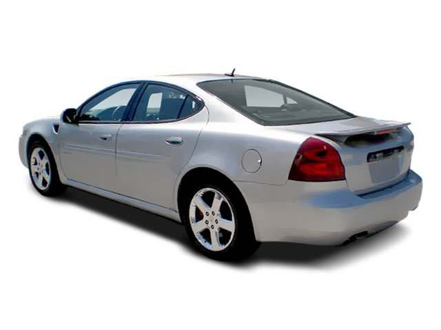 2008 Pontiac Grand Prix Pictures Grand Prix Sedan 4D photos side rear view