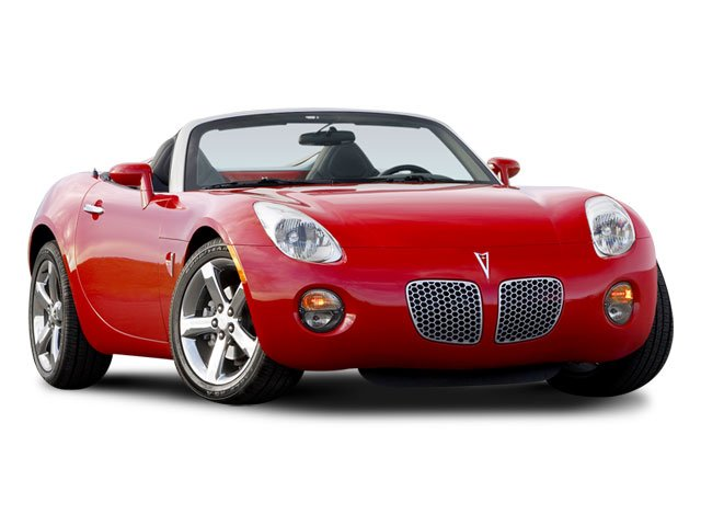 2008 Pontiac Solstice Prices and Values Roadster 2D GXP Club Sport