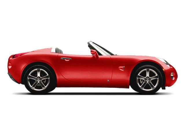 2008 Pontiac Solstice Prices and Values Roadster 2D GXP Club Sport side view