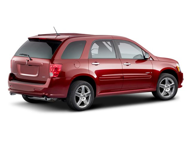 2008 Pontiac Torrent Prices and Values Utility 4D AWD side rear view