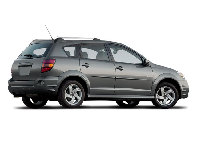 2008 Pontiac Vibe Prices and Values Wagon 4D side rear view