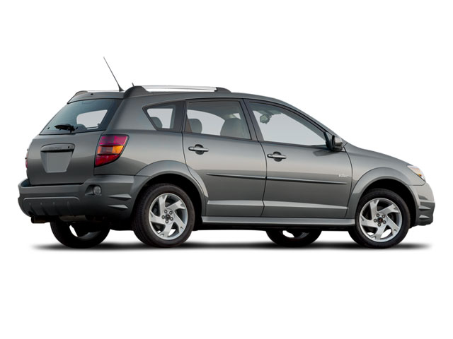 2008 Pontiac Vibe Pictures Vibe Wagon 4D photos side rear view