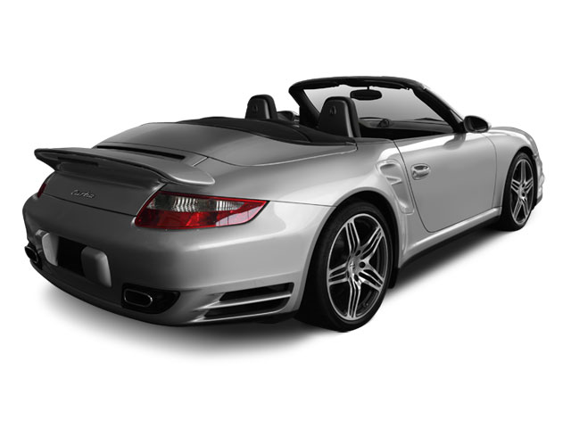 2008 Porsche 911 Prices and Values Cabriolet 2D S side rear view
