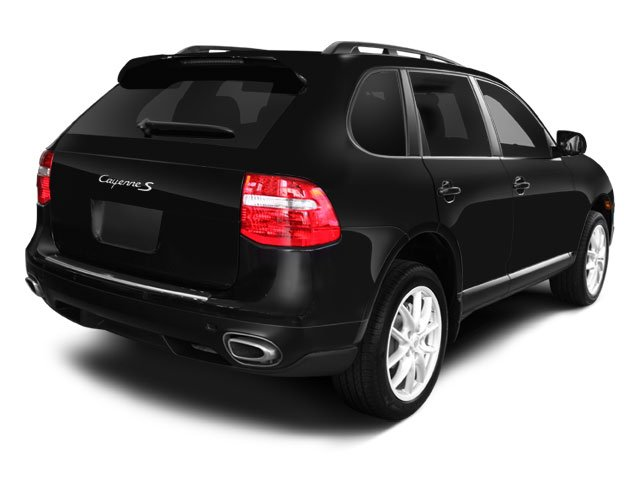 2008 Porsche Cayenne Prices and Values Utility 4D Turbo AWD (V8) side rear view