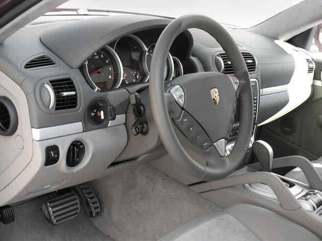 2008 Porsche Cayenne Prices and Values Utility 4D Turbo AWD (V8) full dashboard