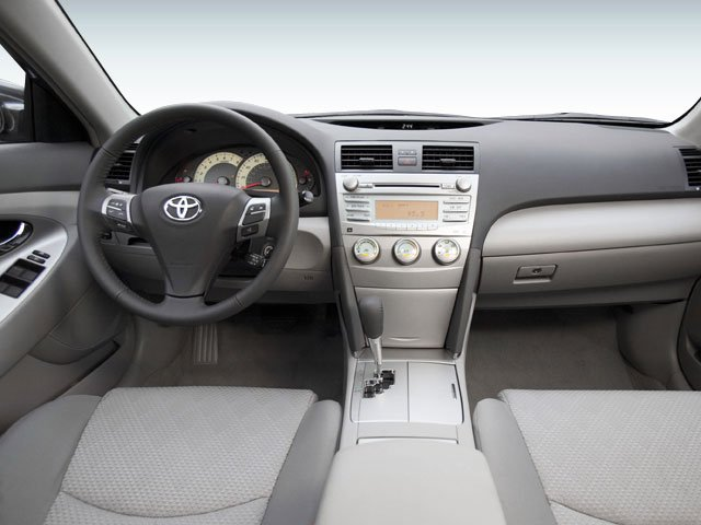2008 Toyota Camry Prices and Values Sedan 4D SE full dashboard