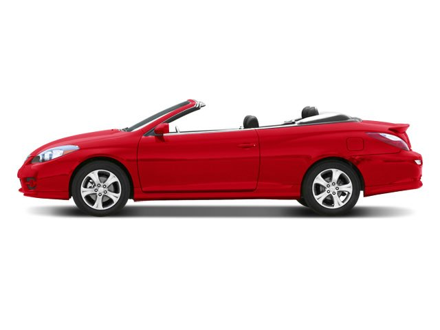 2008 Toyota Camry Solara Prices and Values Convertible 2D SLE side view