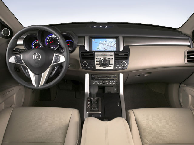 2009 Acura RDX Pictures RDX Utility 4D AWD photos full dashboard