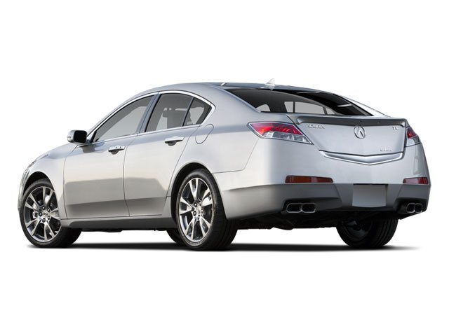 2009 Acura TL Prices and Values Sedan 4D Technology AWD side rear view
