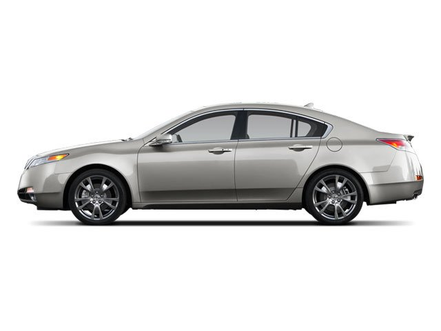 2009 Acura TL Prices and Values Sedan 4D Technology AWD side view