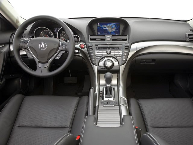 2009 Acura TL Prices and Values Sedan 4D Technology AWD full dashboard