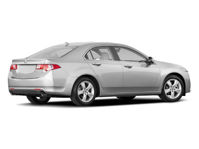 2009 Acura TSX Prices and Values Sedan 4D side rear view