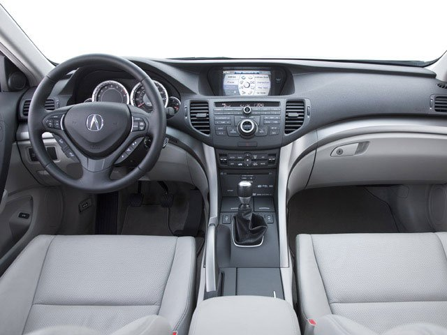 2009 Acura TSX Prices and Values Sedan 4D full dashboard