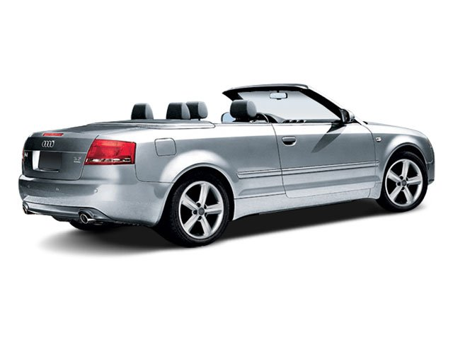 2009 Audi A4 Prices and Values Cabrio 2D 3.2 Quattro side rear view
