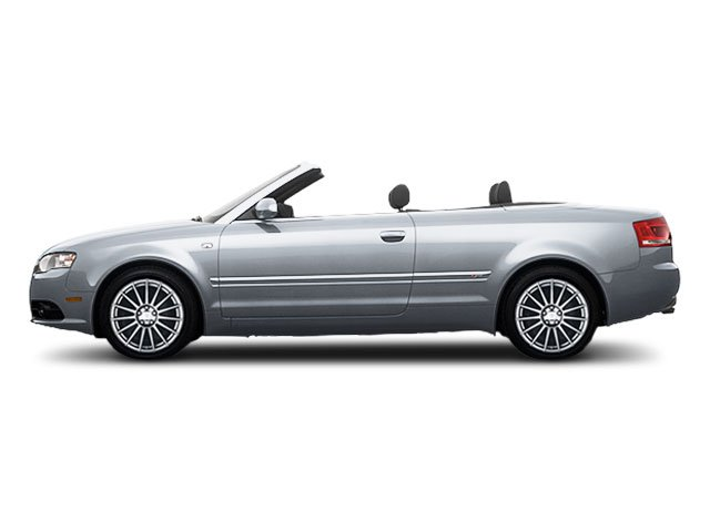 2009 Audi A4 Prices and Values Cabrio 2D 3.2 Quattro side view