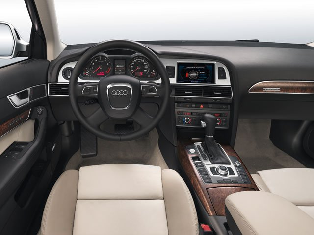 2009 Audi A6 Prices and Values Wagon 4D 3.0T Quattro driver's dashboard