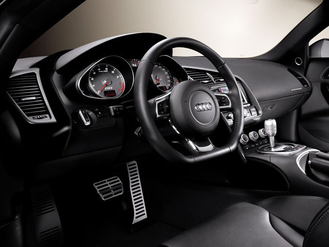 2009 Audi R8 Prices and Values 2 Door Coupe Quattro Awd (auto) full dashboard