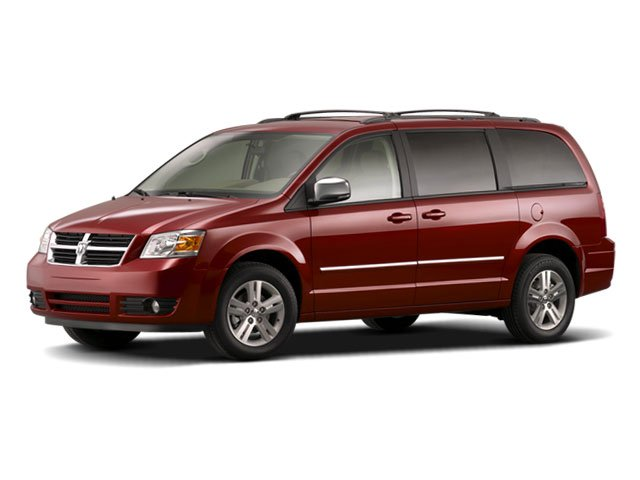 2009 Dodge Grand Caravan Prices and Values Grand Caravan SXT 3.8L side front view