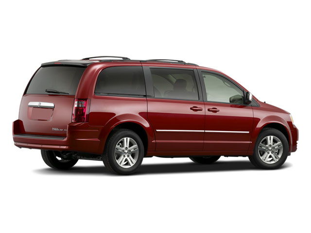 2009 Dodge Grand Caravan Prices and Values Grand Caravan SE side rear view