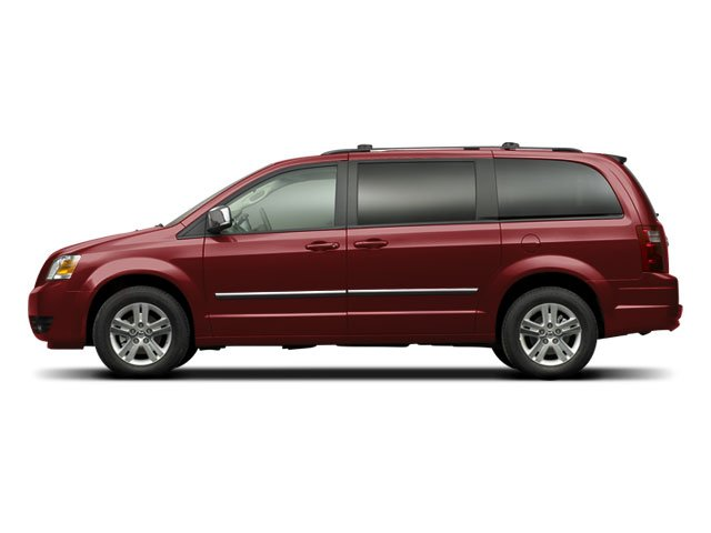 2009 Dodge Grand Caravan Prices and Values Grand Caravan SE side view