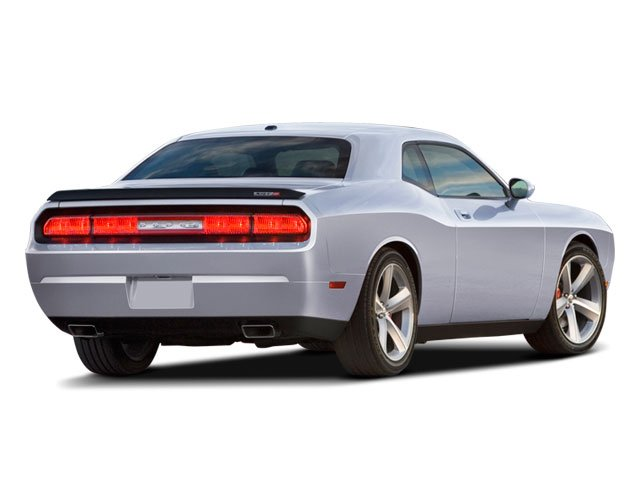 2009 Dodge Challenger Prices and Values Coupe 2D SRT-8 side rear view