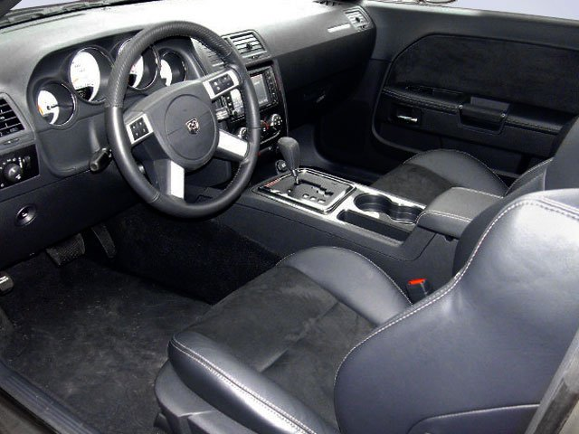 2009 Dodge Challenger Prices and Values Coupe 2D SRT-8 full dashboard