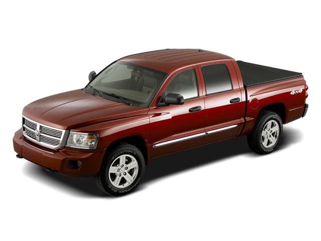2009 Dodge Dakota Prices and Values Quad Cab TRX 4WD side front view