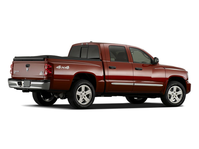 2009 Dodge Dakota Prices and Values Quad Cab TRX 4WD side rear view