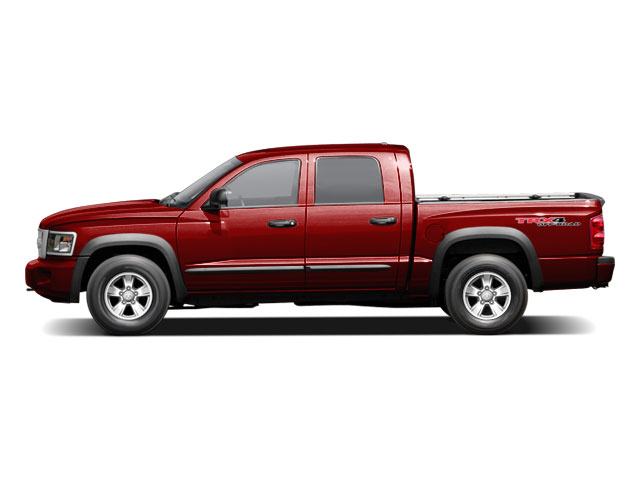 2009 Dodge Dakota Prices and Values Quad Cab TRX 4WD side view