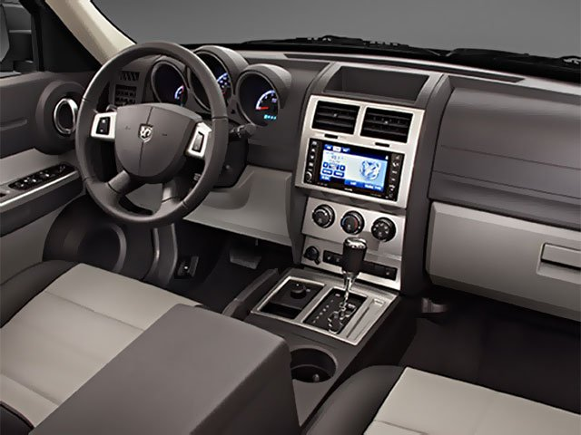 2009 Dodge Nitro Prices and Values Utility 4D SE 4WD driver's dashboard