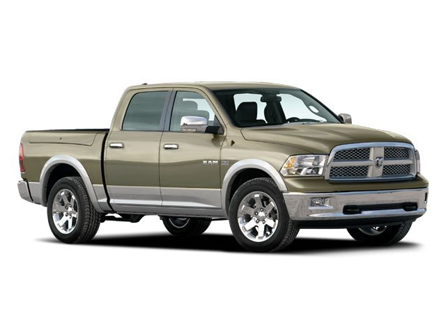 2009 Dodge Ram 1500 Prices and Values Crew Cab SLT 4WD side front view