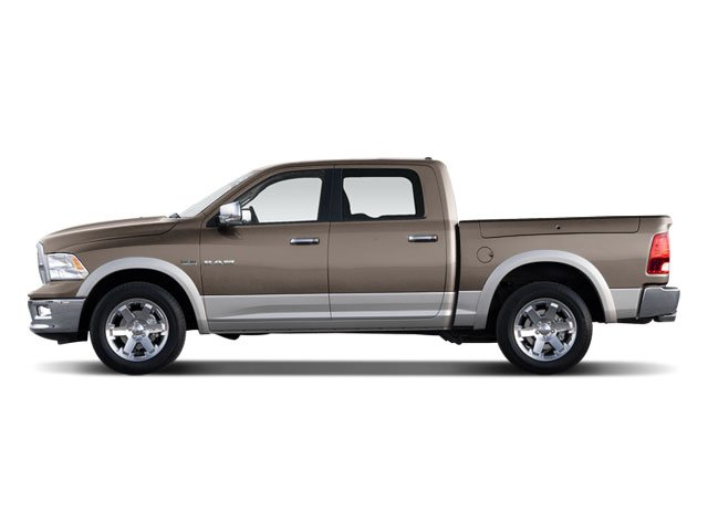 2009 Dodge Ram 1500 Prices and Values Crew Cab Laramie 2WD side view