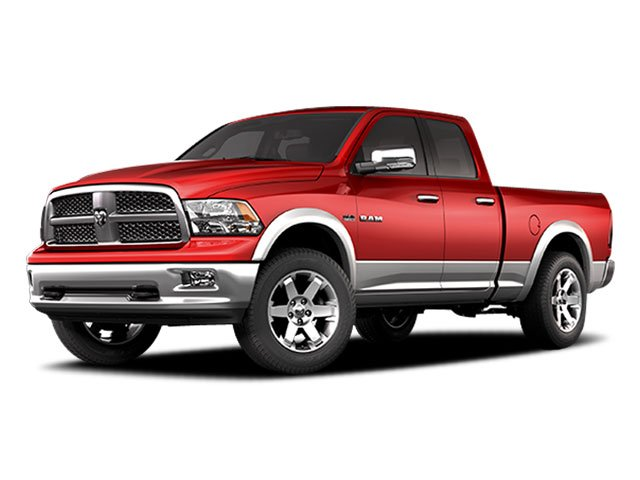 2009 Dodge Ram 1500 Pictures Ram 1500 Quad Cab SLT 4WD photos side front view