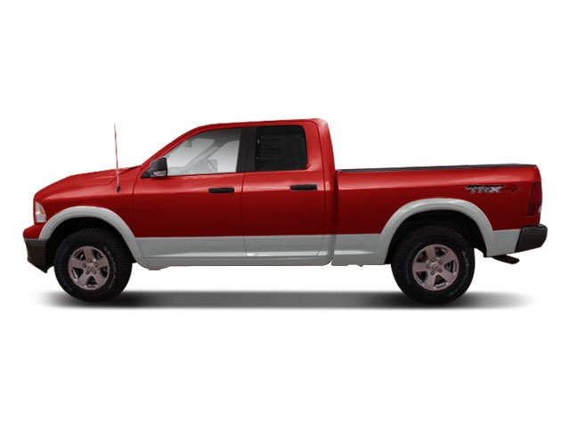2009 Dodge Ram 1500 Prices and Values Quad Cab TRX 2WD side view
