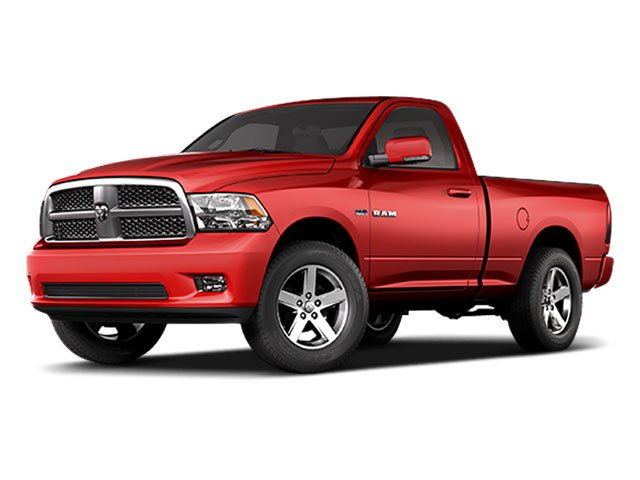 2009 Dodge Ram 1500 Prices and Values Regular Cab SLT 2WD side front view