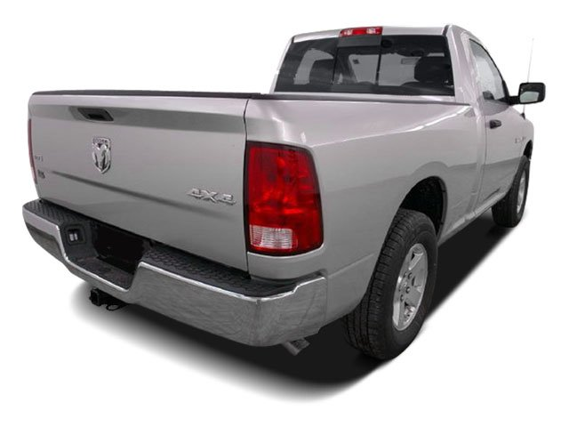 2009 Dodge Ram 1500 Prices and Values Regular Cab SLT 2WD side rear view