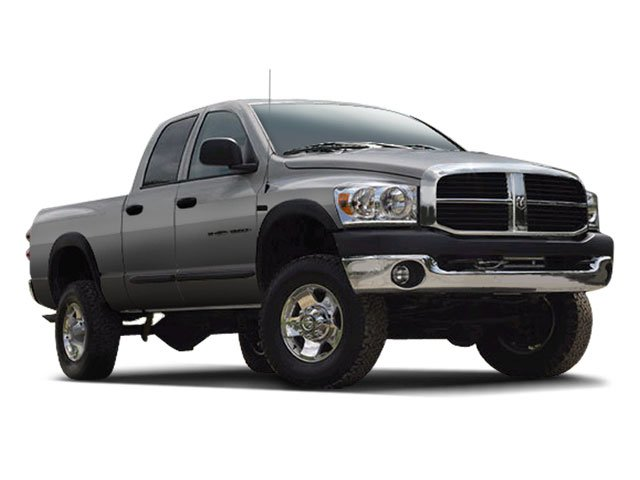 2009 Dodge Ram 2500 Prices and Values Quad Cab SLT 2WD side front view