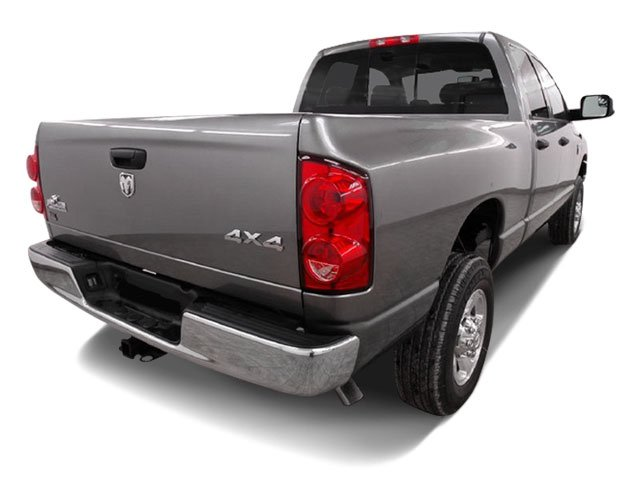 2009 Dodge Ram 2500 Prices and Values Quad Cab SXT 4WD side rear view
