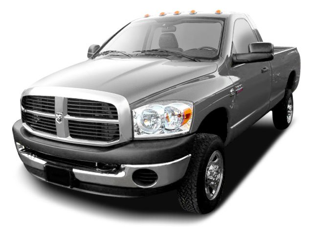 2009 Dodge Ram 2500 Prices and Values Regular Cab SLT 4WD side front view