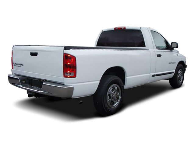 2009 Dodge Ram 2500 Prices and Values Regular Cab SLT 4WD side rear view