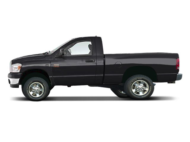 2009 Dodge Ram 2500 Prices and Values Regular Cab SXT 4WD side view
