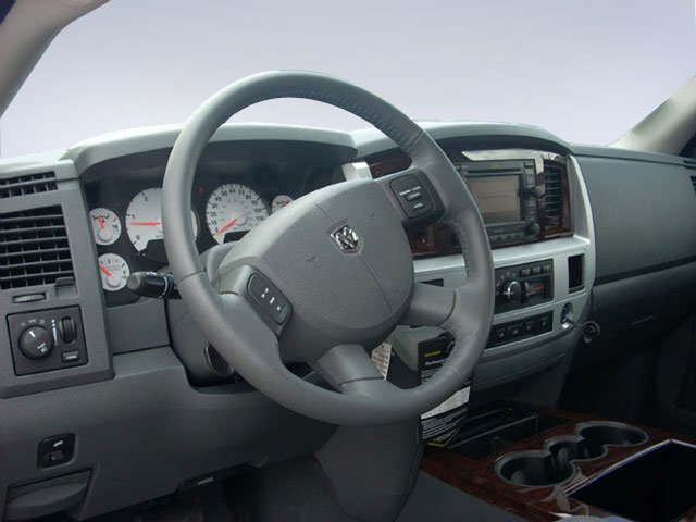 2009 Dodge Ram 2500 Prices and Values Regular Cab SLT 4WD full dashboard