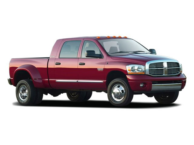 2009 Dodge Ram 3500 Prices and Values Mega Cab Laramie 2WD side front view