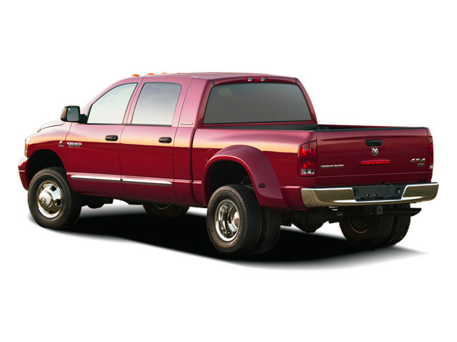2009 Dodge Ram 3500 Prices and Values Mega Cab Laramie 2WD side rear view