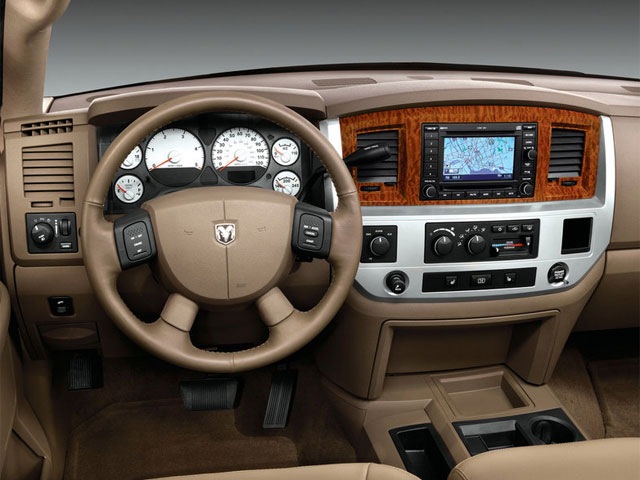 2009 Dodge Ram 3500 Prices and Values Mega Cab Laramie 2WD driver's dashboard