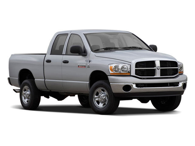 2009 Dodge Ram 3500 Prices and Values Quad Cab SLT 4WD side front view